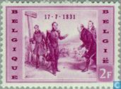 Timbres-poste - Belgique [BEL] - Léopold I arrivée en Belgique