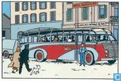 Postcards - Tintin - Zwitserse Posterijen : 100 jaar Hergé - gestempeld