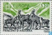 Postage Stamps - Andorra - French - Europe – Nature conservation