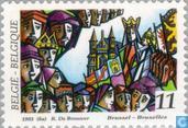 Timbres-poste - Belgique [BEL] - Folklore