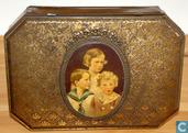 Boîtes en métal - Boîte à biscuits - Oude koekendoos