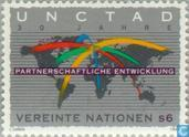 Timbres-poste - Nations unies - Vienne - La CNUCED