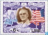 Postzegels - San Marino - Roosevelt, Franklin D.