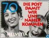 Postage Stamps - Switzerland [CHE] - De post- waarmee we tot elkaar komen