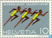 Postage Stamps - Switzerland [CHE] - Youth Sports