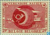 Postage Stamps - Belgium [BEL] - U.N. at world exhibition Brussels