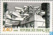 Postage Stamps - France [FRA] - Contemporary architecture
