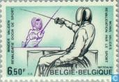 Postage Stamps - Belgium [BEL] - Sports