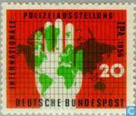 Postage Stamps - Germany, Federal Republic [DEU] - Police Exhibition