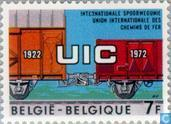 Timbres-poste - Belgique [BEL] - Union internationale des chemins de fer