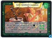 Trading cards - Harry Potter 3) Diagon Alley - Self-Stirring Cauldron