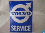 Emaille Reklamebord : Volvo
