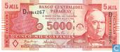 Paraguay 5000 Guaranies