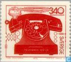 Postage Stamps - Sweden [SWE] - 100 years of telephony