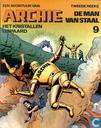 Strips - Archie, de man van staal - Het kristallen luipaard