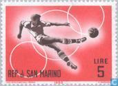 Postzegels - San Marino - Voorolympische Spelen