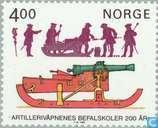 Timbres-poste - Norvège - Artillerie norvégienne