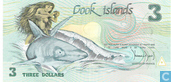 Billets de banque - Government of the Cook Islands - Îles Cook 3 dollars