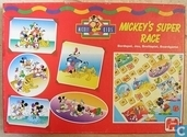 Board games - Mickey's Super Race - Mickey's Super Race