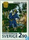 Postzegels - Zweden [SWE] - STOCKHOLMIA 86 (V)