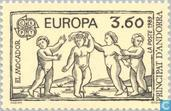 Postage Stamps - Andorra - French - Europe – Children's games