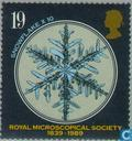 Timbres-poste - Grande-Bretagne [GBR] - Association royal du microscope 1839-1989