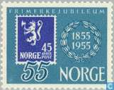 Briefmarken - Norwegen - Briefmarken-Jubiläum