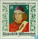 Postage Stamps - Austria [AUT] - Oswald von Wolkenstein, 600 years
