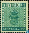 Postage Stamps - Sweden [SWE] - Staatswapen