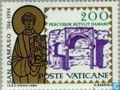 Briefmarken - Vatikanstadt - Papst Damasus I