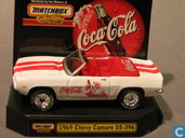 Model cars - Matchbox - Chevrolet Camaro SS 396 'Coca-Cola'