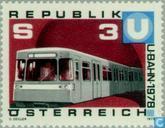 Timbres-poste - Autriche [AUT] - Vienne Metro