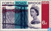 Postzegels - Groot-Brittannië [GBR] - Forth Road Bridge
