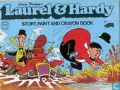 Boeken - Laurel en Hardy - Story, Paint and Crayon Book
