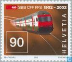 Postzegels - Zwitserland [CHE] - Spoorwegen
