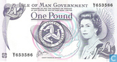 Banknotes - Isle of Man Government - Man 1 Pound