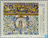 Postzegels - Azoren - Tegels