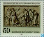 Postage Stamps - Berlin - Land settlement of Bohemian People 1737