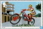 Briefmarken - Man - Motorsport