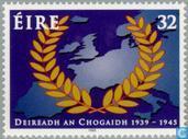 Timbres-poste - Irlande - Mettre fin à la Seconde Guerre mondiale 50 années