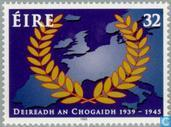 Postzegels - Ierland - Beeïndiging W.O. II 50 jaar