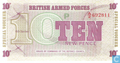 Banknotes - British Armed Forces  6th Series - BAF 10 New Pence