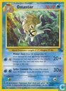Trading cards - English 1999-10-10) Fossil (Unlimited) - Omastar