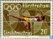 Postzegels - Liechtenstein - Olympische Spelen
