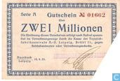 Auerbach 2 Miljoen Mark 1923