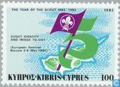 Postzegels - Cyprus [CYP] - 75 jaar scouting