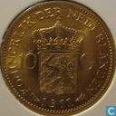 Coins - the Netherlands - Netherlands 10 gulden 1911