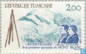 Erstbesteigung des Montblanc