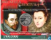 """Monnaies - Belgique - Belgique 500 francs 1999 (PROOF) """"Albertus & Isabella"""""""