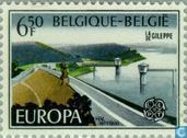 Postzegels - België [BEL] - Europa – Landschappen